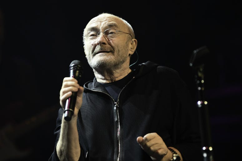 Phil Collins performs at Dreaming on the Beach 4th annual Little Dreams Foundation gala