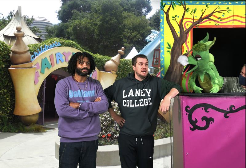 The Bay Area's own Rafael Casal and Daveed Diggs are pitching in to help save Children's Fairyland in Oakland.