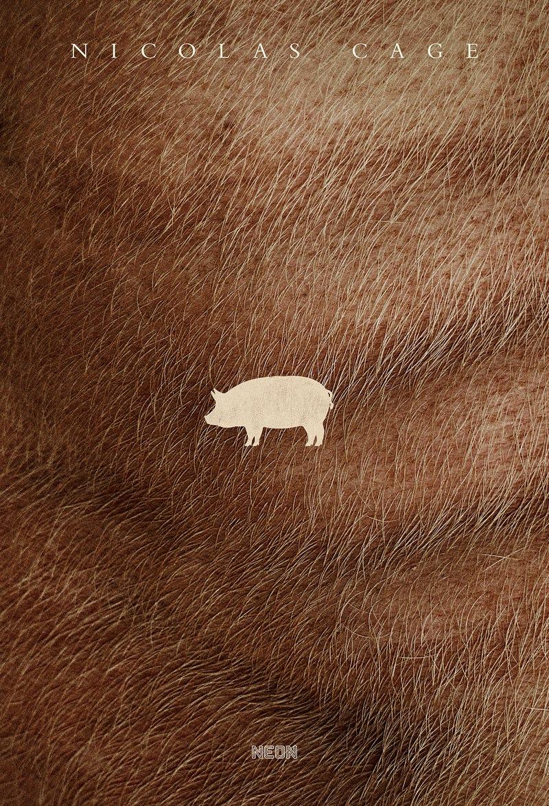 'Pig' teaser poster