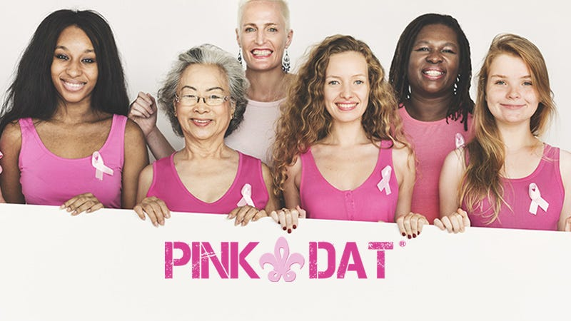 Pink Dat for Breast Cancer Awareness
