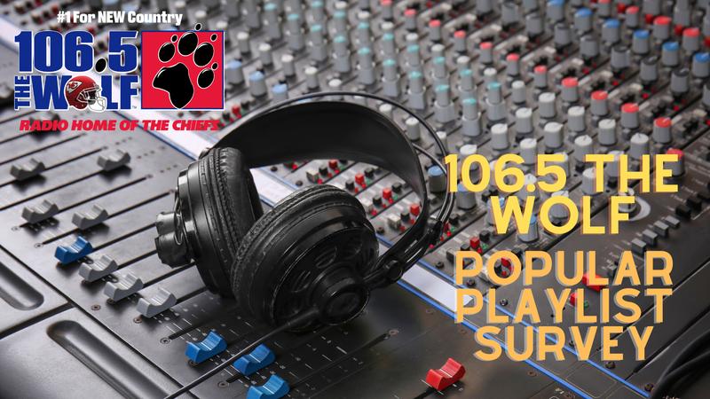 106.5 The Wolf Popular Playlist Survey