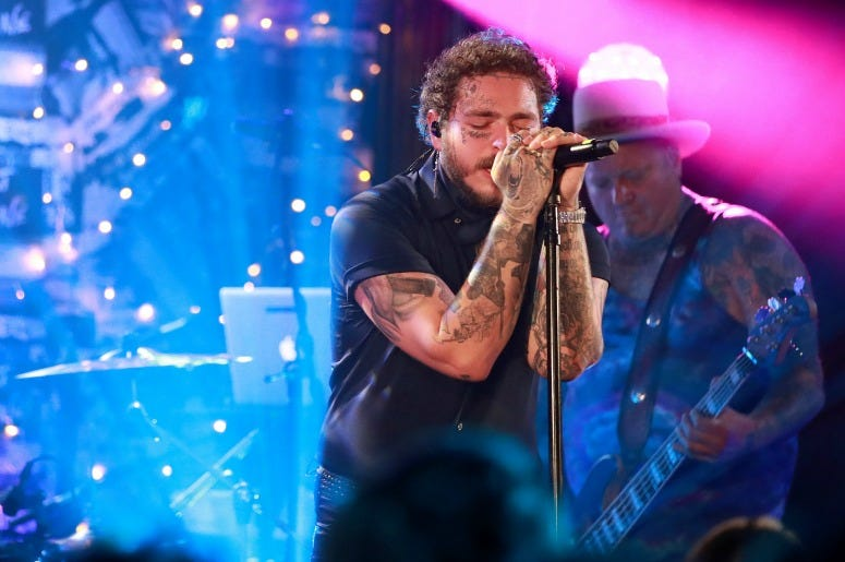 Post Malone backed by Sublime With Rome headlines Bud Light's Dive Bar Tour