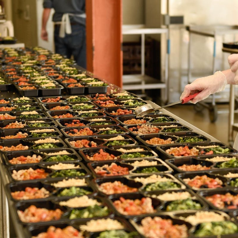 Pictured are prepared meals made by Moveable Feast