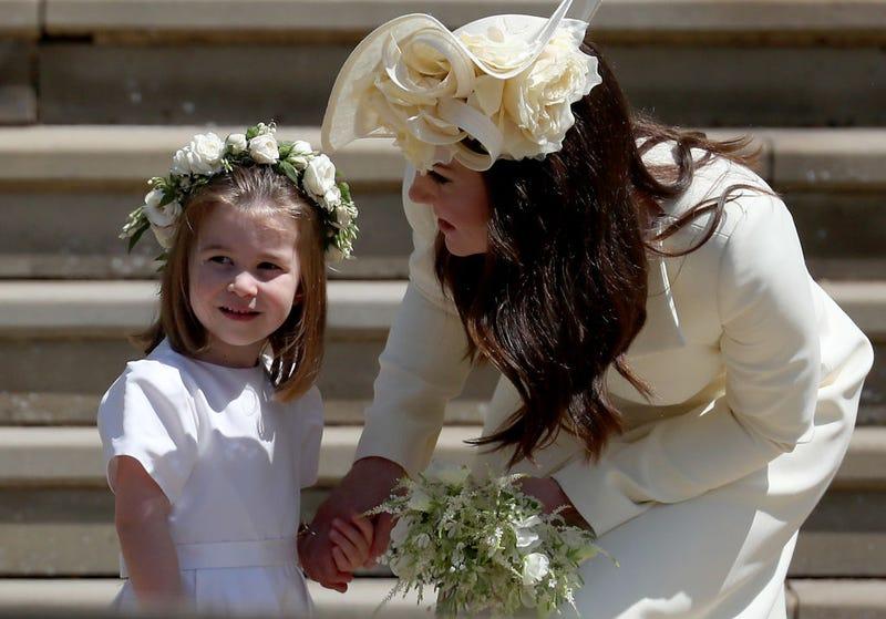 Princess Charlotte and Kate Middleton