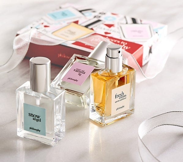 Philosophy perfume gift set