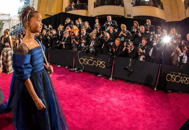 Quvenzhané Wallis at the Oscars