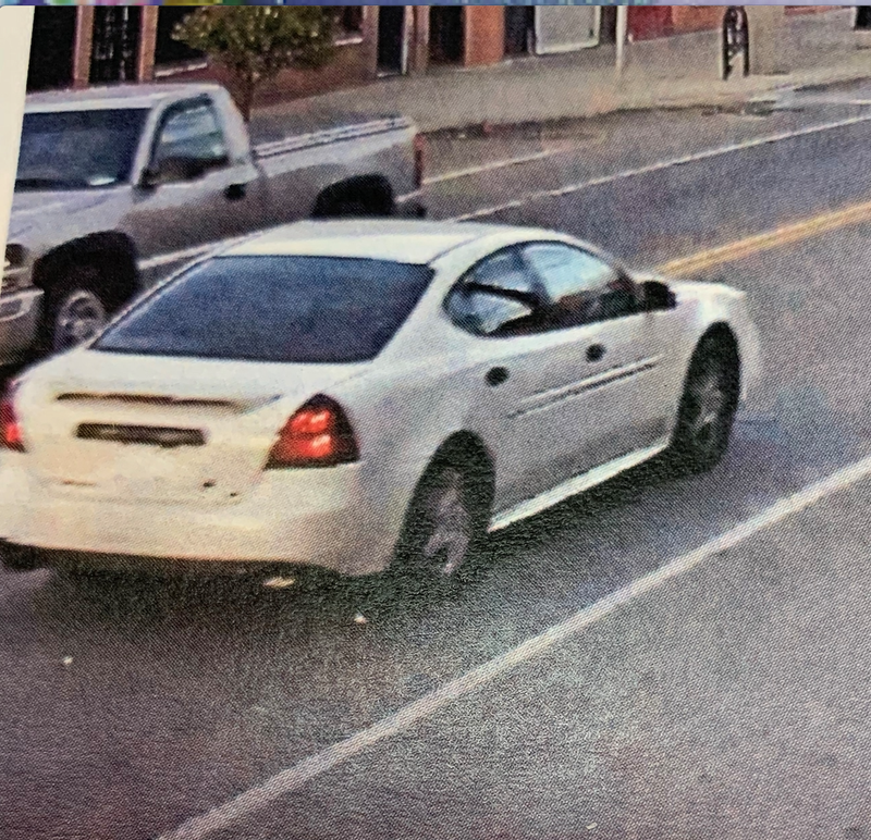 Suspects' vehicle