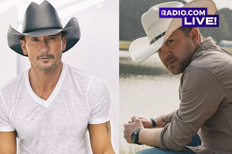 Tim McGraw and Justin Moore