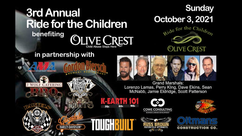 3rd Annual Ride for the Children