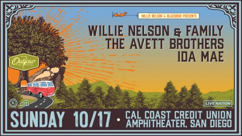 WillieNelson & Friends Outlaw Music Festival