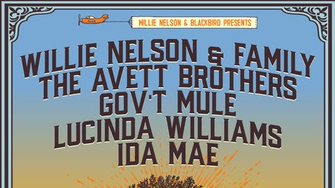 Willie Nelson and The Outlaw Music Festival Tour