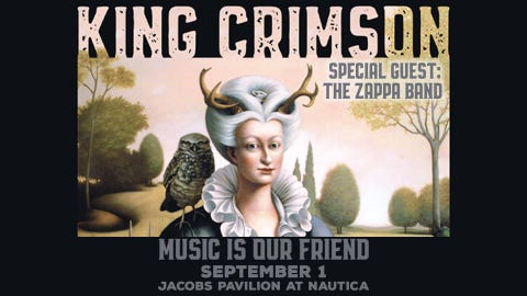 King Crimson - Music is our Friend Tour 2021