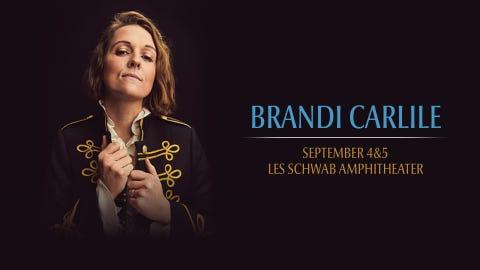 Brandi Carlile at Les Schwab Amphitheater