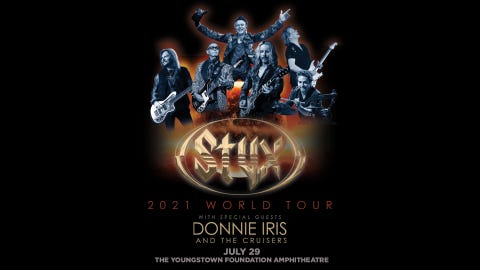 Styx with special guest Donnie Iris & the Cruisers