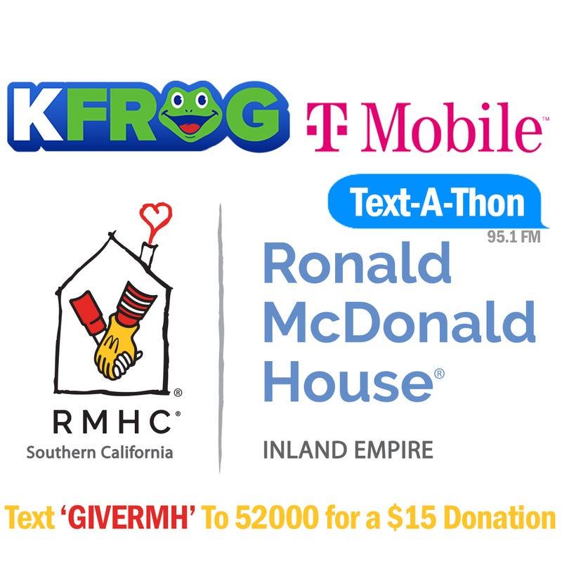 Ronald McDonald House Text-A-Thon