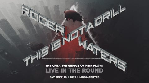 Roger Waters - RESCHEDULED