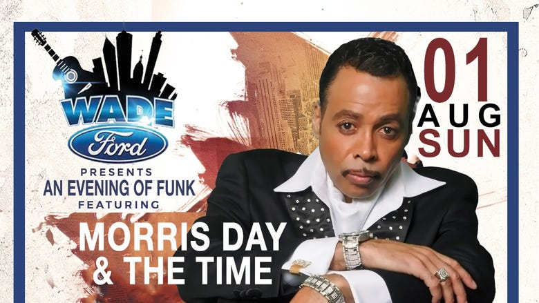 """""""An Evening of Funk""""  Morris Day & The Time, Atlantic Starr and Angela Winbush at the beautiful Mable House Barnes Amphitheater in Mableton, GA."""