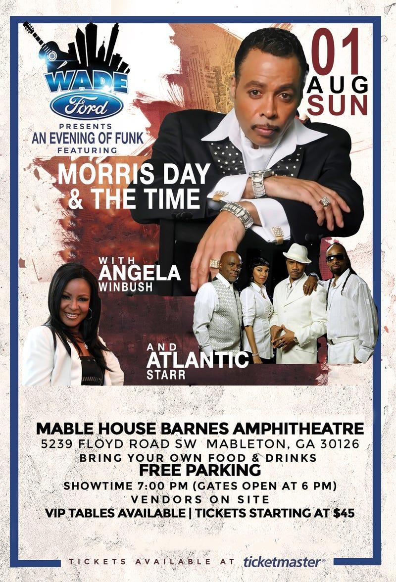 Morris Day & the Time, Angela Winbush, Atlantic Star