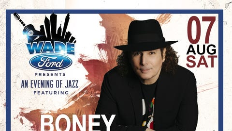 """The Wade Ford Concert Series presents """"An Evening of Jazz"""" , Saturday featuring Boney James and The Average White Band at The Mable House Barnes Amphitheater in Mableton, GA."""