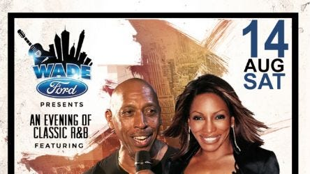 An Evening of Classic Soul,  featuring Jeffrey Osborne and Stephanie Mills hosted by MC Lightfoot