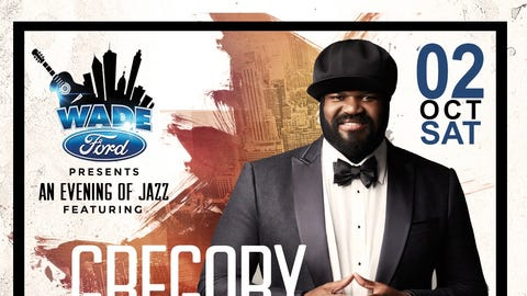 """The Wade Ford Concert Series presents """"An Evening of Jazz"""" with Gregory Porter, Nick Colionne and Selina Albright."""