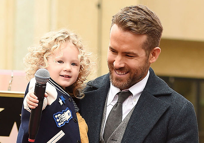 Ryan Reynolds and daughter