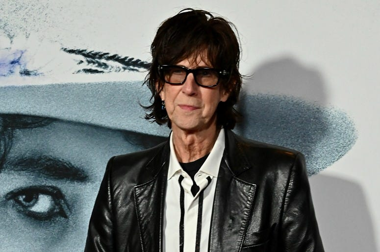 Ric Ocasek attends the world premiere of Netflix's 'ROLLING THUNDER REVUE.'