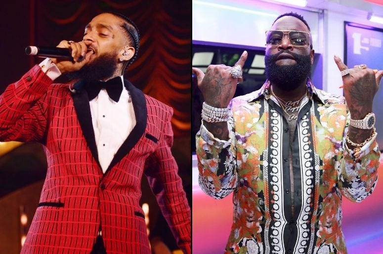 Nipsey Hussle is featured on the new album from Rick Ross