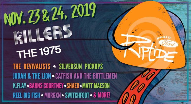 Riptide Music Festival lineup