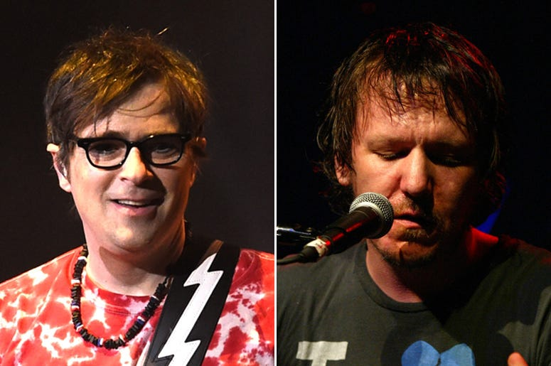 Rivers Cuomo of Weezer and Elliott Smith