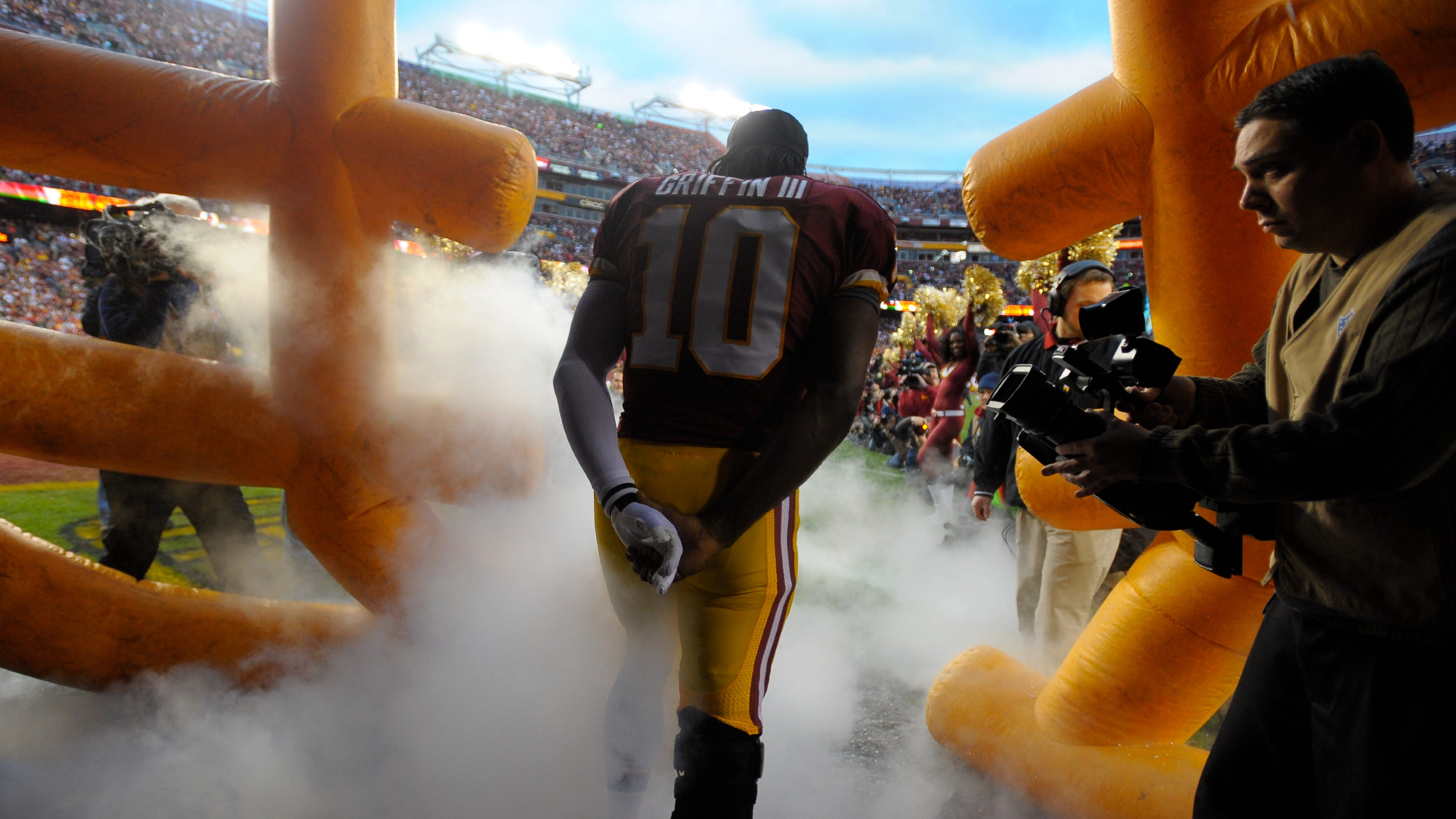 Robert Griffin III open to a return to Washington: 'Never say never'