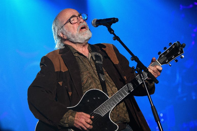 Robert Hunter performs onstage at the Songwriters Hall Of Fame