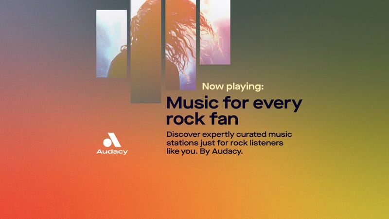 Audacy Exclusive Rock Stations