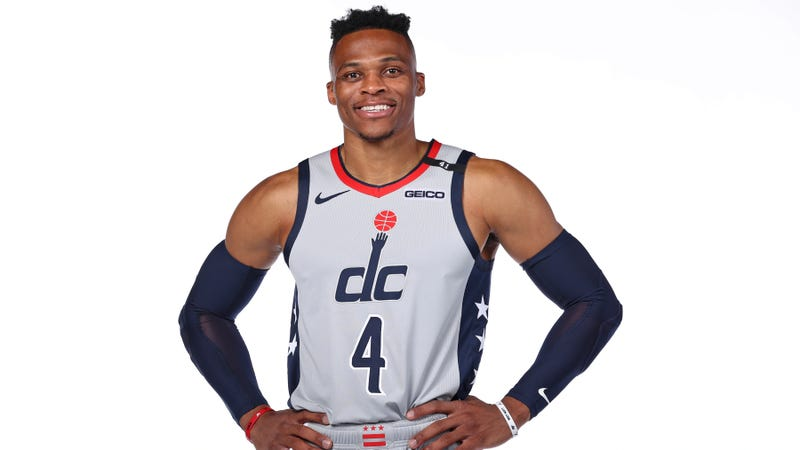Russell Westbrook City Edition Jersey