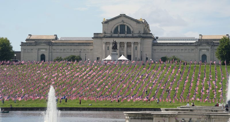 Flags of Valor at Art Hill