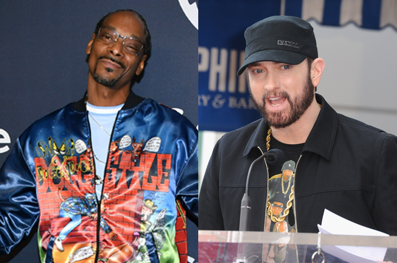 Snoop Dogg an Eminem