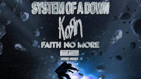 System Of A Down | Korn | Faith No More