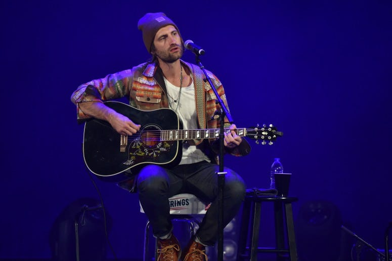 "Ryan Hurd performs on stage during ""Stars and Strings Presented by RAM Trucks Built to Serve,"" a RADIO.COM Event"