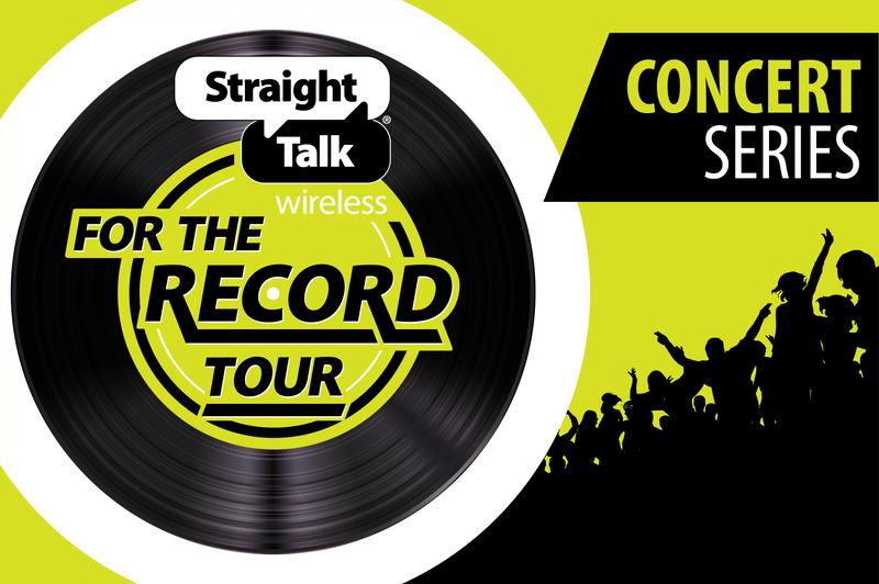 Straight Talk concert series header