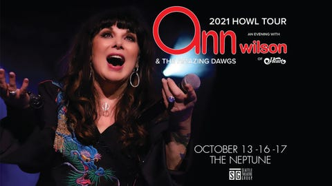 Ann Wilson of Heart - 2021 Howl Tour - Day Two