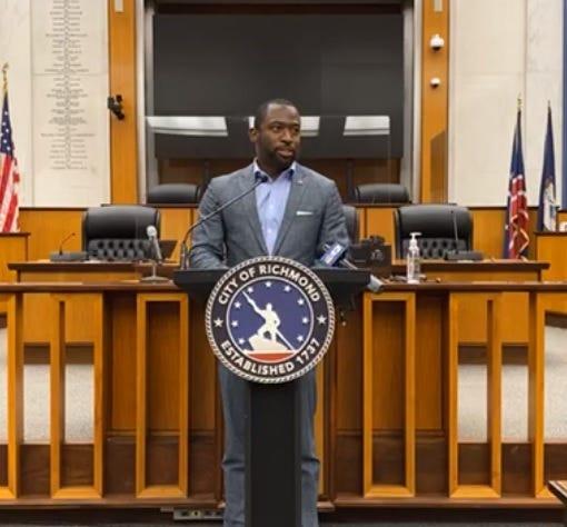 Mayor Levar Stoney