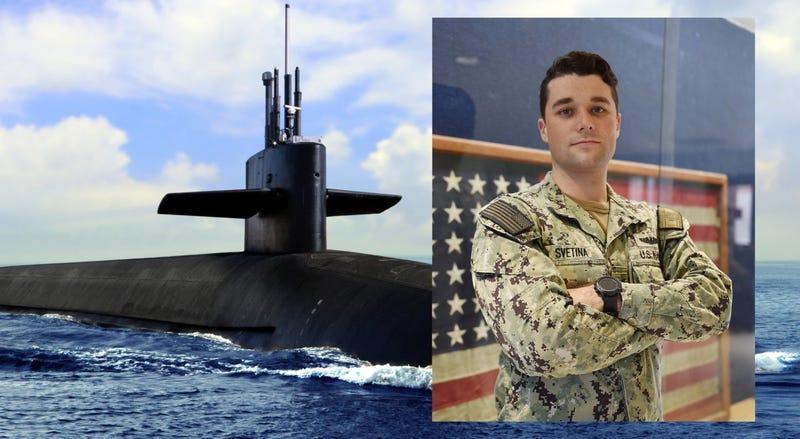 Petty Officer 2nd Class Daniel Svetina