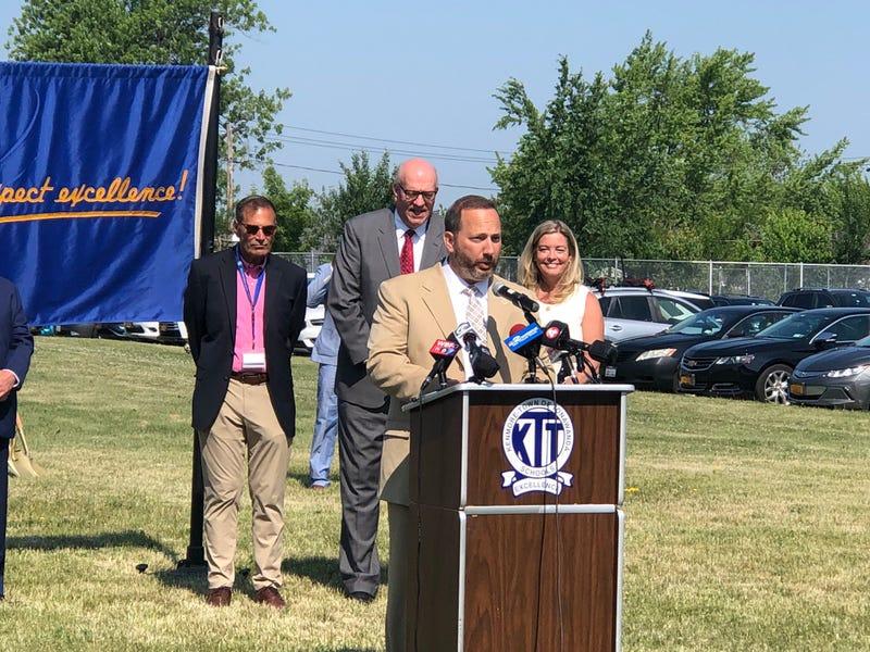 Sabatino Cimino, Superintendent at Ken-Ton Schools. June 11, 2021