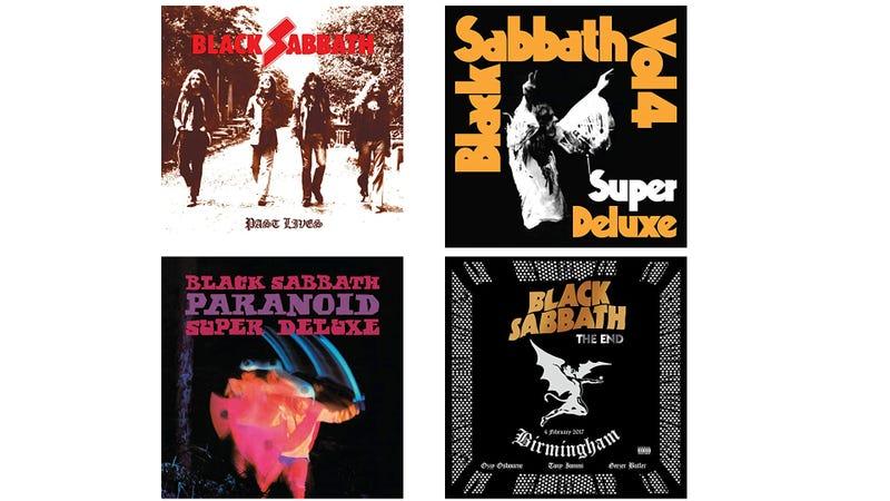 Black Sabbath Deluxe Editions