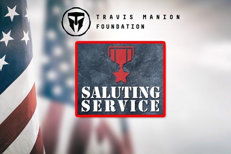 Saluting Service