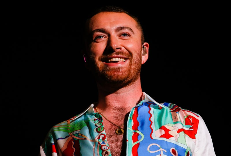 Sam Smith performs on stage during the Lollapaloosa Sao Paulo 2019 - Day 1 on April 05, 2019 in Sao Paulo, Brazil.