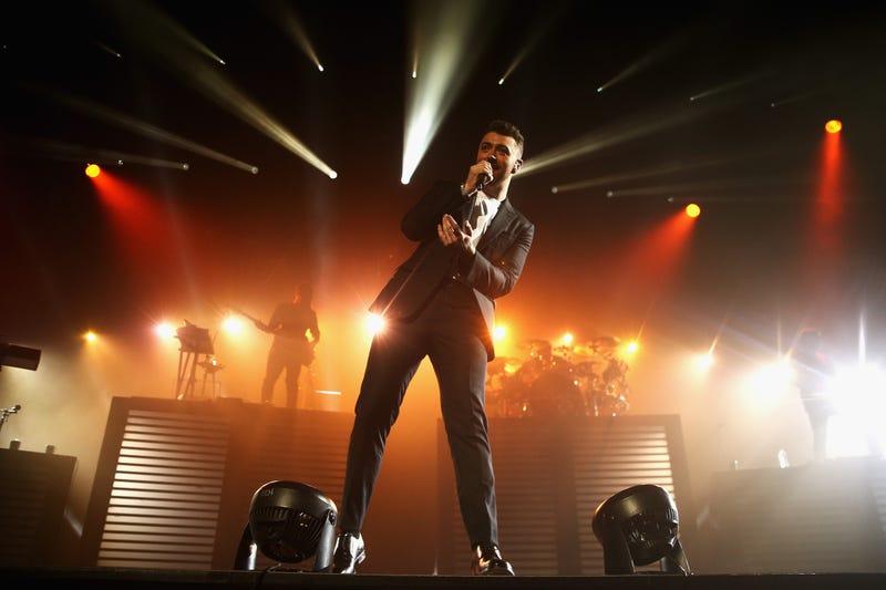 Sam Smith performs at Qantas Credit Union Arena on December 4, 2015 in Sydney, Australia.