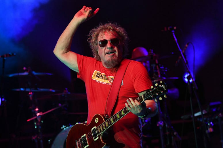 cdbd7a50 Sammy Hagar Wants To Go In The Rock And Roll Hall Of Fame Again
