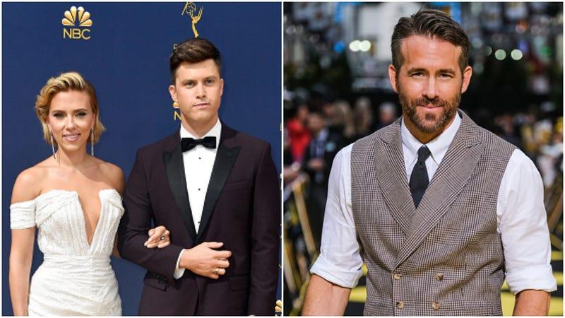 Scarlett Johansson, Colin Jost, Ryan Reynolds