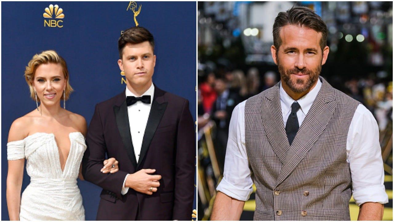 Colin Jost And Ryan Reynolds Had No Problem On Snl